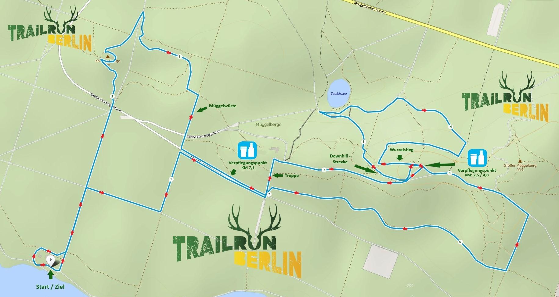 Alles zum Lauf | TrailRunBerlin